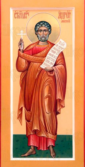Андрей Месукевийский (мерная икона)
