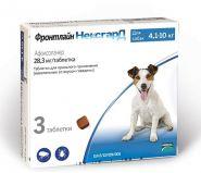 Фронтлайн НексгарД Жевательные таблетки для собак 4-10 кг (3 табл.)