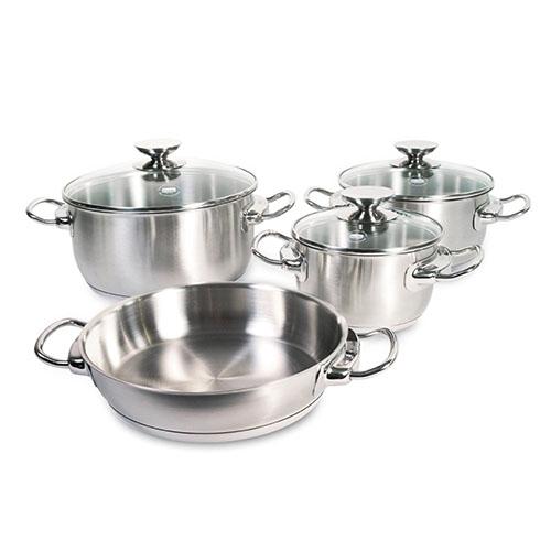 набор посуды, 4 предмета INJOY UNCOATED, Berndes