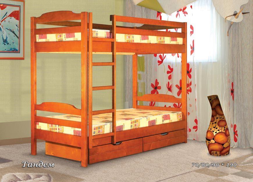 Двухъярусная кровать Тандем  | Альянс XXI век
