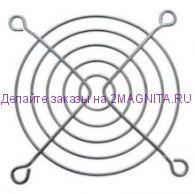 Решетка для вентилятора металлическая 80х80мм