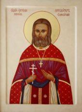Евгений Попов (рукописная икона)