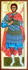 Евгений Севастийский (мерная икона)