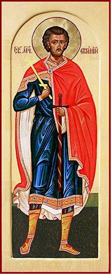 Евгений Мелитинский (мерная икона)