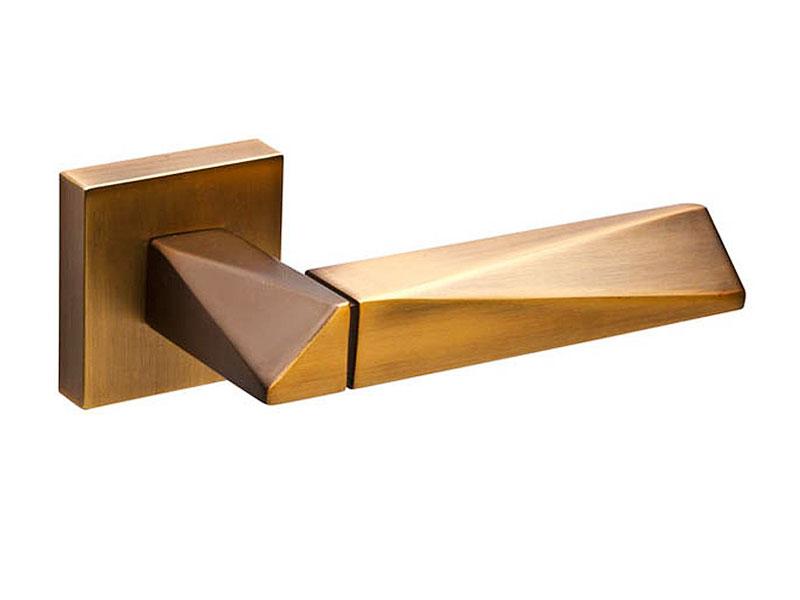 Дверная ручка модель DIAMOND DM CF-17, цвет кофе