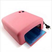 JD Лампа УФ/UV модель 818 розовая, 36 W