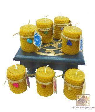 Чакровая свеча Анахата/Целительство (зеленая)