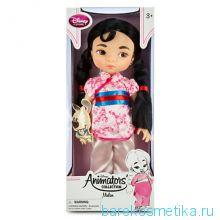 Кукла Мулан с игрушкой Аниматорс