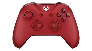 Microsoft  Xbox One S Wireless Controller Red (for windows)