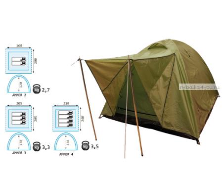 Палатка Reisen Ammer 3 (olive)