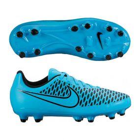 Детские бутсы Nike Magista Onda FG голубые