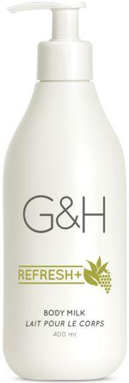 G&H Refresh+ Освежающее молочко для тела 400 мл