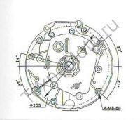 Двигатель Лифан 1P70FV-B с вертикальным расположением коленчатого вала обладает массой в 15.5 килограмм