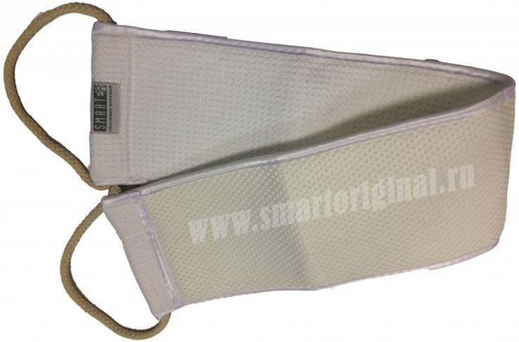 Smart Microfiber Мочалка для душа белая