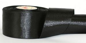 `Атласная лента, ширина 50 мм, Арт. Р-АЛ_черный-50