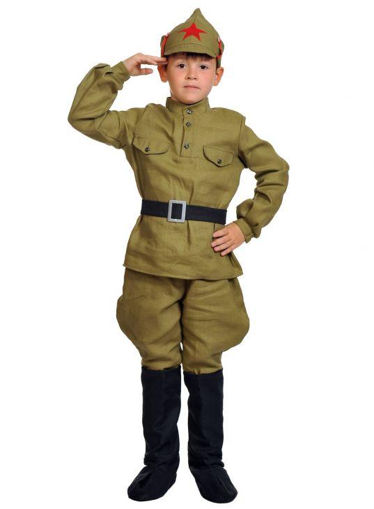 Военная форма для мальчиков Красноармеец