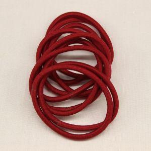 `Резинка для волос бесшовная, диаметр 50 мм, цвет 05 бордовый