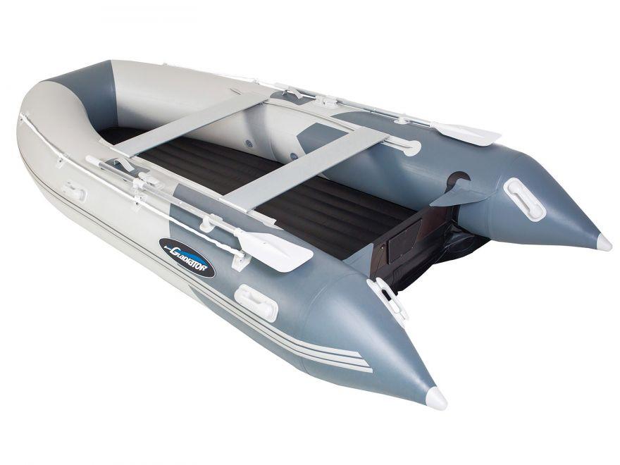 Моторная лодка ПВХ GLADIATOR E 330 LT Air с НДНД