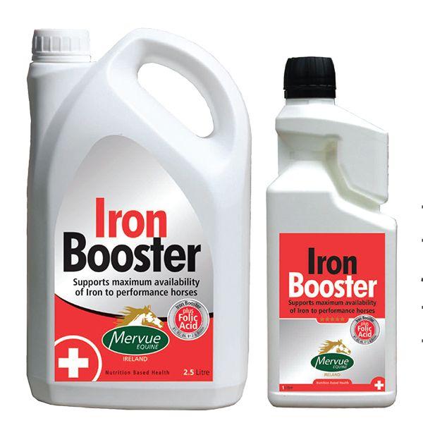 Mervue Equine Iron Booster для энергии. 1 и 2,5 литра
