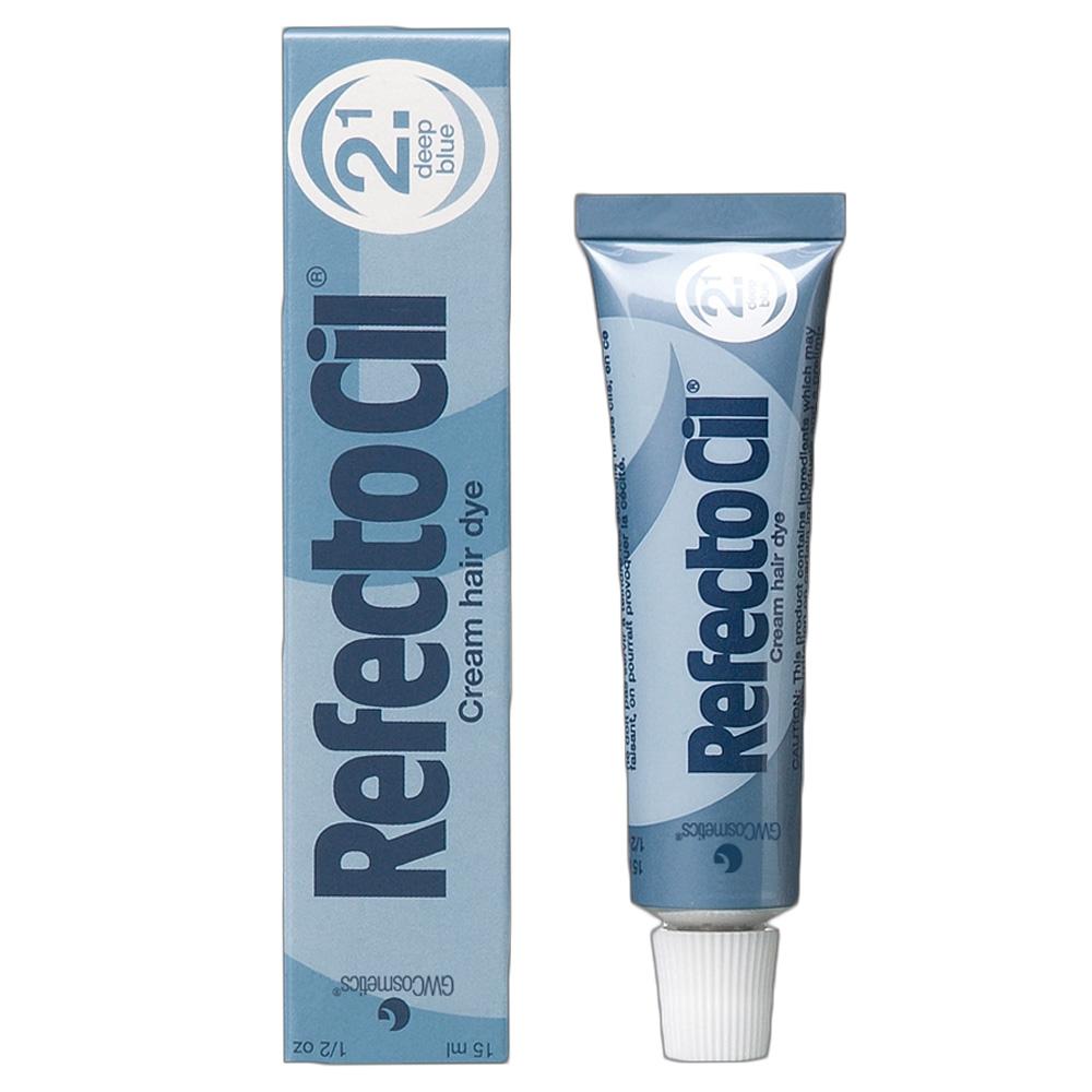 Краска для бровей и ресниц Refectocil ( Синяя ) 2.1