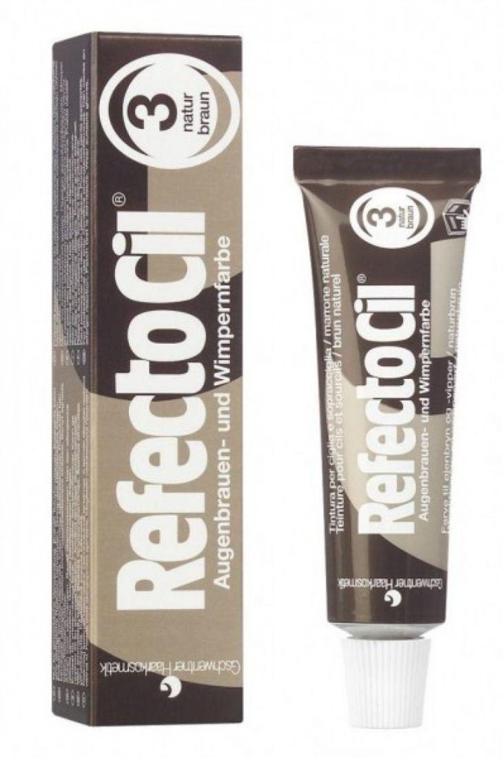 Краска для бровей и ресниц Refectocil ( Натурально-коричневая ) 3