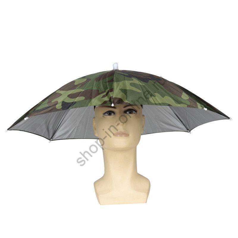 Шляпа зонт Камуфляж