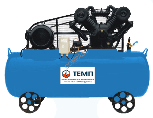 Компрессор поршневой ТЕМП TC500LA1300