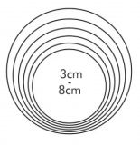Tescoma Формочки -  круги DELICIA 6 шт 631360