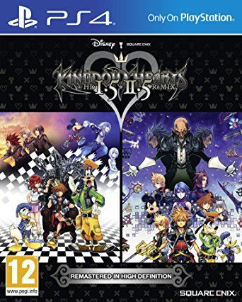 Игра Kingdom Hearts HD 1.5 + 2.5 ReMix (PS4)