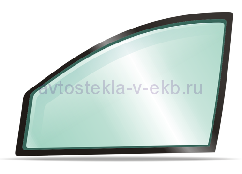 Боковое левое стекло NISSAN TIIDA 06/2007-