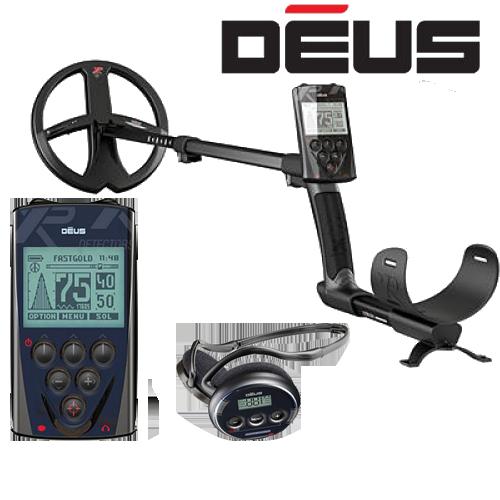 Металлоискатель XP Deus v5.1 c блоком управления с наушниками WS4 c катушкой X35 22.5 см (9'')