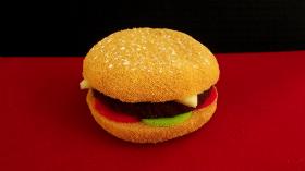 """Гамбургер"" Sponge Hamburger by Alexander May"