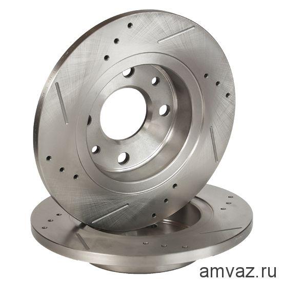 Диск переднего тормоза ALNAS  2108-3501070
