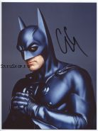 Автограф: Джордж Клуни. Бэтмен и Робин
