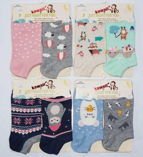 Женские носки-короткие 36-41 KAWAII №KW16002