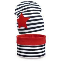 Комплект шапка и шарф для девочки 6-12 лет №SG128