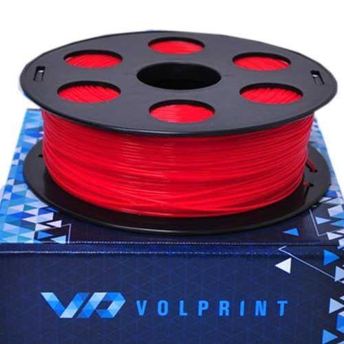ABS пластик VolPrint 1,75мм красный, 1кг