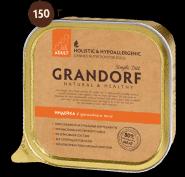 Grandorf Adult - Индейка в ароматном желе (150 г)