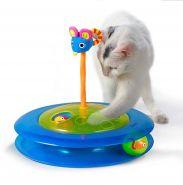 """Petstages Игрушка для кошек """"Трек с двумя мячиками"""" (диаметр 27 см)"""