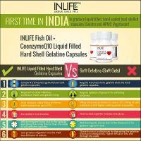 Рыбий жир + коэнзим Q10 в капсулах Инлайф   INLIFE Fish Oil with CoQ10 Supplement