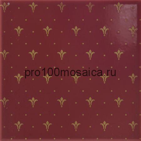 411271-16 Aparici Poeme Burdeos Ornato 20x20 см (APARICI)