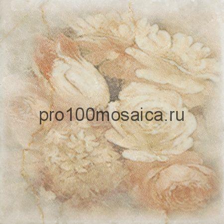 1511014-240-02240-3 Cir Marble Age Inserto Ottocento Botticino S/3 (6 Цветков) 10х10 см (CIR)