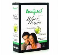 Хна черная с Алоэ вера краска для волос Банджарас | Banjara's Black Henna Aloe Vera Natural Black