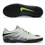 Шиповки-сороконожки Nike Hypervenom Phelon II TF серые
