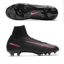 Детские бутсы Nike Mercurial Superfly V FG чёрные