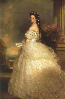 Элизабет, Принцесса Баварская (Репродукция  Франца-Ксавье Винтерхальтера )