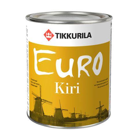 Евро Кири лак паркетный алкидно-уретановый