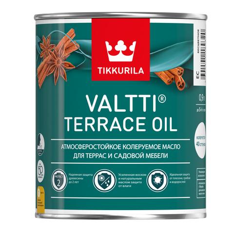 Масло для террас Tikkurila Valtti Terrace oil - Валтти Террас Ойл