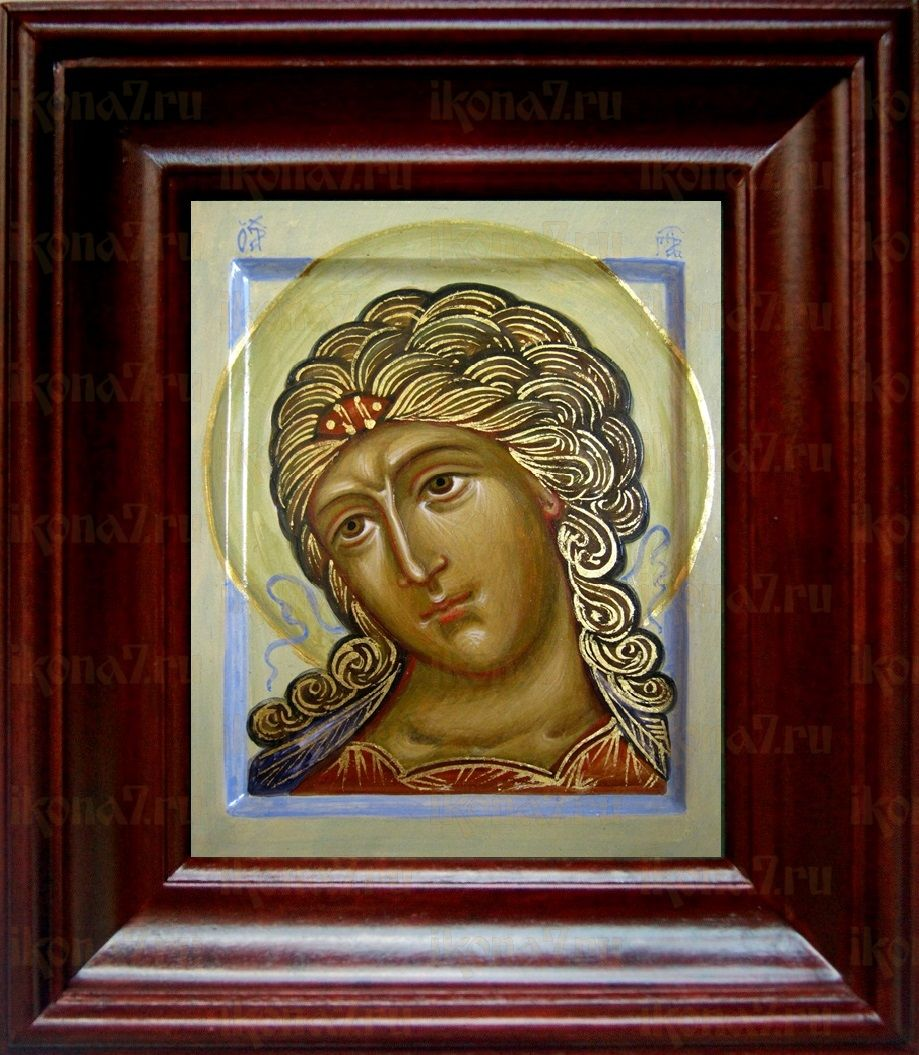 Ангел Златые власы (21х24), простой киот