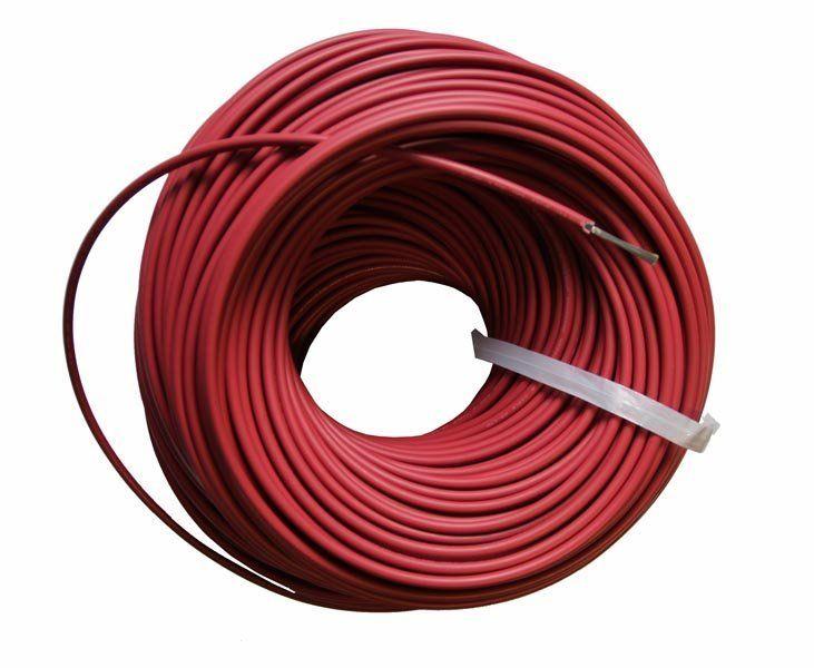 Кабель для С.Б. красный 2.5 мм²